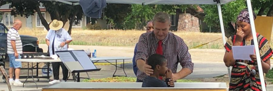 Baptisms at Five Mile